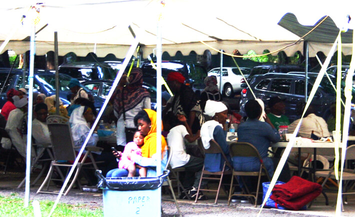 Dozens of families gathered for a picnic in the park at the 2nd Annual Banu Adam family reunion on Eid 2015