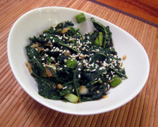 Asian Style Greens with kale