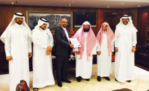 Contract Signing to implement the automatic translation system in Mecca