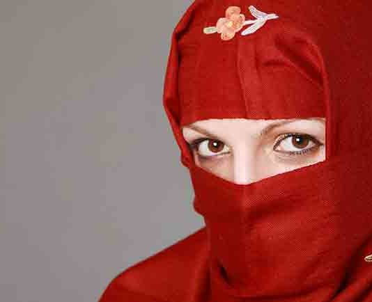 I wrap my hijab a little tighter today