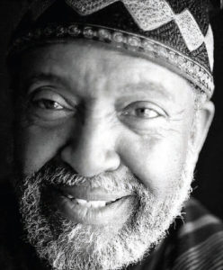 Imam Warith Deen Mohammed in perhaps his last portrait before his death in 2008.