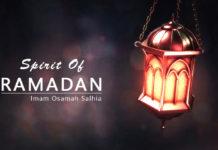 Spirit of Ramadan -Osamah Salhia