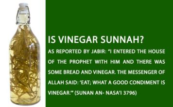 Vinegar, the Sunnah and Benefits