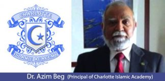 An Interview with Dr. Azim Beg, Principal of Charlotte Islamic Academy
