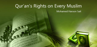 Qur'an's Rights on Every Muslims - Khutbah recap by haroon sait