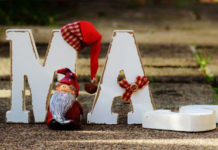 Xmas sign is shown with parts knocked over, indicating that it is neglected. What do we need to get rid of from Christmas as a Muslim? How should we deal with family? This article provides some answers.