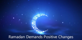 Ramadan Demands Positive Changes - Khutbah of Osama Salhia